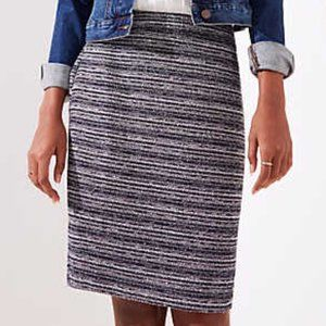 EVERYTHING $5! LOFT Petites tweed skirt